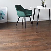 GoodHome Kailas Natural Oak Real wood top layer flooring, 2.05m² Pack