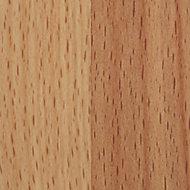 GoodHome Kava Matt Natural Beech effect Solid beech Upstand (L)3000mm