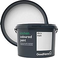GoodHome Kitchen Alberta Matt Emulsion paint, 2.5L
