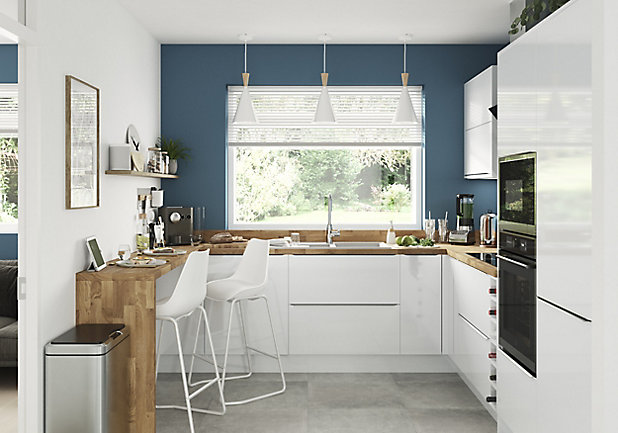 Goodhome Kitchen Antibes Matt Emulsion, Kitchen Cabinet Paint Colors B And Q