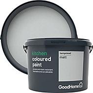 GoodHome Kitchen Hempstead Matt Emulsion paint, 2.5L