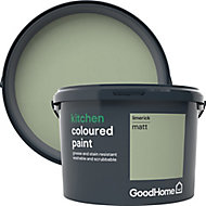 GoodHome Kitchen Limerick Matt Emulsion paint 2.5L