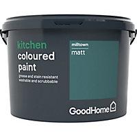 GoodHome Kitchen Milltown Matt Emulsion paint, 2.5L