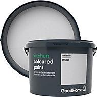 GoodHome Kitchen Whistler Matt Emulsion paint, 2.5L
