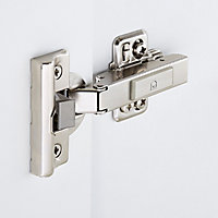 GoodHome Kombu Soft-close 110° Clip-on Cabinet hinge, Pair