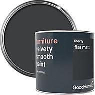 GoodHome Liberty Flat matt Furniture paint, 500ml