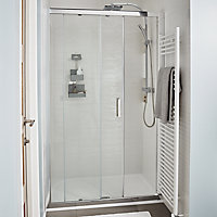 GoodHome Limski Rectangular Shower tray (L)760mm (W)1200mm (D)80mm