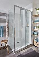 GoodHome Limski Rectangular Shower tray (L)900mm (W)1200mm (H)28mm