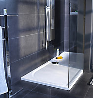 GoodHome Limsky Rectangular Shower tray (L)700mm (W)1600mm