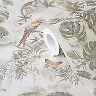 GoodHome Lipia Multicolour Jungle Glitter & mica effect Textured Wallpaper