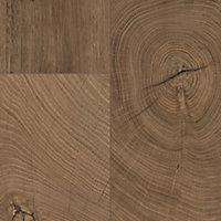 GoodHome Lydney Brown Dark oak effect Flooring, 1.76m² Pack