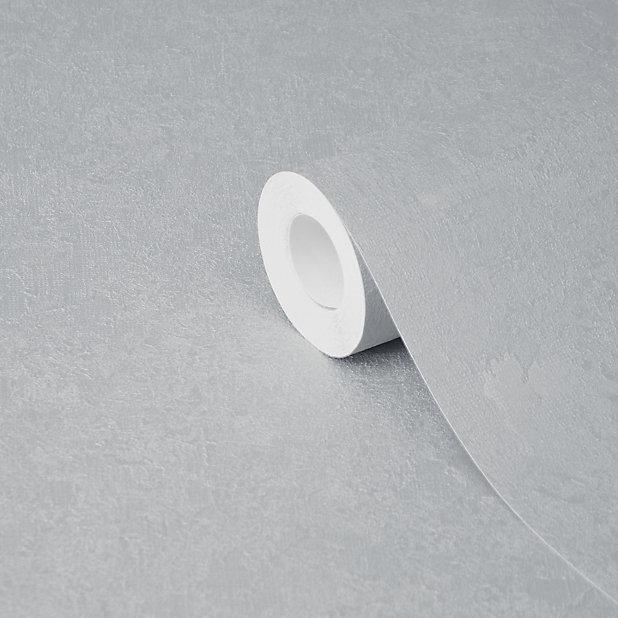 Goodhome Malmy Light Grey Textured Wallpaper Diy At B Q