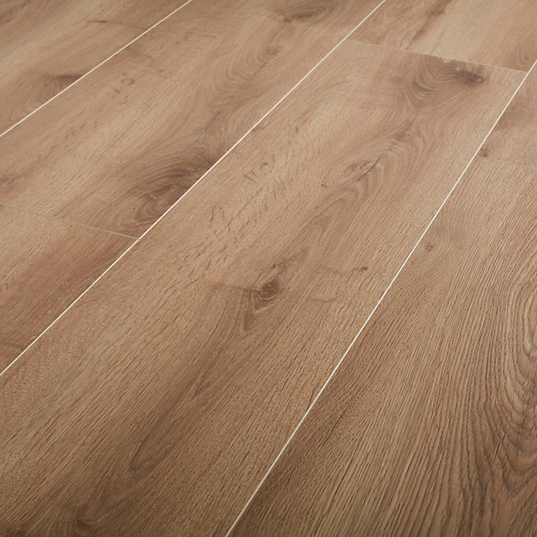 Goodhome Masham Natural Oak Effect, How To Get Smoke Smell Out Of Laminate Flooring