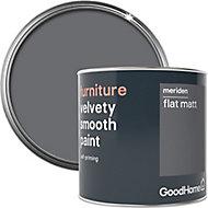 GoodHome Meriden Flat matt Furniture paint, 500ml