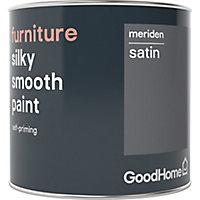 GoodHome Meriden Satin Furniture paint, 500ml