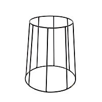 GoodHome Metal Pot stand
