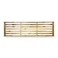 GoodHome Neva Lap Trellis panel (W)1.79m (H)0.52m