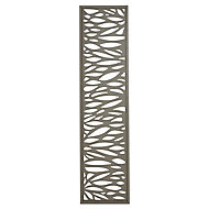 GoodHome Neva Leaf 1/4 Fence panel (W)0.44m (H)1.79m
