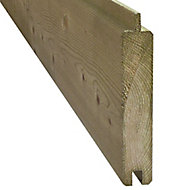 GoodHome Neva Timber Fence slat (L)1.79m (W)132mm