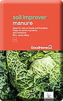 GoodHome Peat-free Beds & borders Manure 50L