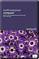 GoodHome Peat-free Multi-purpose Compost 50L