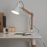 GoodHome Peroten White Table light