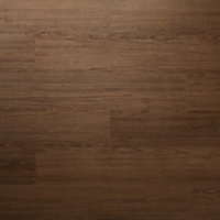 GoodHome Poprock Wood planks Wood effect Self adhesive Vinyl plank, Pack of 7
