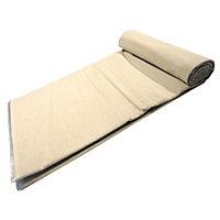 GoodHome Reusable Laminated Cotton Dust sheet, (L)4m, (W)3m