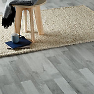 GoodHome Rockhampton Grey Oak effect Laminate flooring, 2.467m² Pack