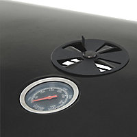 GoodHome Rockwell C410 Black Charcoal Barbecue