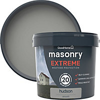 GoodHome Self-cleaning Hudson Smooth Matt Masonry paint, 5L