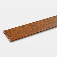 GoodHome Skanor wide Natural Oak Solid wood flooring, 1.8m² Pack