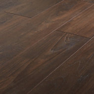 GoodHome Swanley Natural Smoked oak effect Laminate flooring, 1.29m² Pack