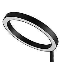 GoodHome Taphao Matt Black LED Table light