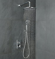GoodHome Teesta 3-spray pattern Recessed Shower