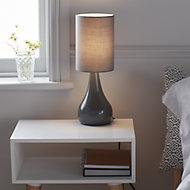 GoodHome Tertrez Grey Table light