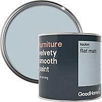 GoodHome Toulon Flat matt Furniture paint, 500ml