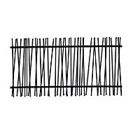 GoodHome Tube fencing, (L)1.8m (H)1.8m (T)70mm