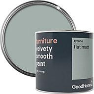 GoodHome Tyrone Flat matt Furniture paint, 500ml