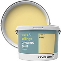 GoodHome Walls & ceilings Andalusia Matt Emulsion paint 2.5L