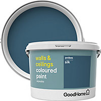 GoodHome Walls & ceilings Antibes Silk Emulsion paint, 2.5L