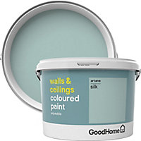 GoodHome Walls & ceilings Artane Silk Emulsion paint, 2.5L