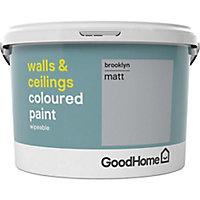 GoodHome Walls & ceilings Brooklyn Matt Emulsion paint, 2.5L