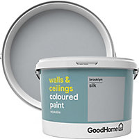 GoodHome Walls & ceilings Brooklyn Silk Emulsion paint, 2.5L