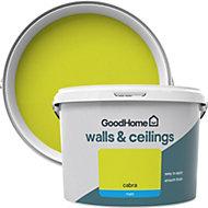 GoodHome Walls & ceilings Cabra Matt Emulsion paint, 2.5L
