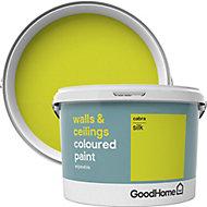 GoodHome Walls & ceilings Cabra Silk Emulsion paint, 2.5L