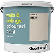 GoodHome Walls & ceilings Cancun Matt Emulsion paint, 5L