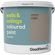 GoodHome Walls & ceilings Caracas Matt Emulsion paint, 5L