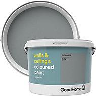 GoodHome Walls & ceilings Delaware Silk Emulsion paint, 2.5L