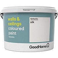 GoodHome Walls & ceilings Fairbanks Silk Emulsion paint, 2.5L
